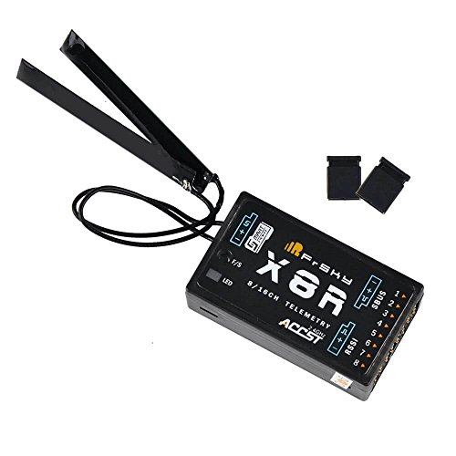 Frsky X8R Receiver empfänger 16CH 2.4ghz ACCST RSSI SBUS kompatibel Frsky X9D Significantly X9E X12S Sender Transmitter for RC FPV Racing RC Drone Quadcopter by LITEBEE