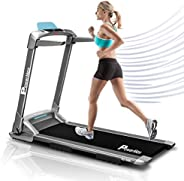Powermax Fitness Unisex Adult UrbanTrek Motorised No Assembly 2.0 Hp Treadmill With Android And Iphone Applica