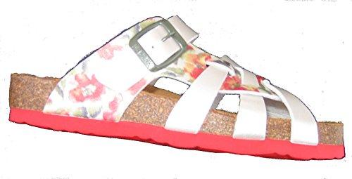 Dr.Brinkmann 700901-4 donna Clogs & mules rosso / cachi