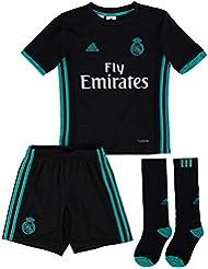 adidas Real Madrid Mini Kit, Niños, Negro, 11-12 Años
