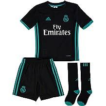 adidas Real Madrid Mini Kit, Niños, Negro, 12-13 Años