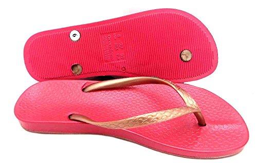Ipanema - Beach, Infradito per bambine e ragazze Rosa (Pink/Rose Gold)