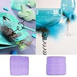 Artificielles - Cordon papier laitonne lavande d 2 mm bobine de 20 metres - choisissezvotrecouleur: lavande