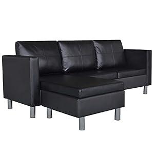 Ce canapé de haute qualité en cuir artificiel est parfait pour s'asseoir, regarder la télé ou se relaxer avec sa famille et ses amis. Ce canapé dispose de sièges larges et de coussins généreusement rembourrés pour un confort d'assise ultime. Le canap... [Méridienne]