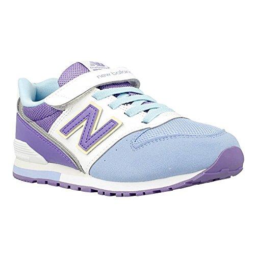 New Balance - KV996 - Couleur: Blanc-Bleu-Violet - Pointure: 28.5