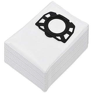 KEEPOW 15 Pack Vliesfilterbeutel Ersatz für Karcher Staubsauger WD4 WD5 WD5 / Premium / MV4 / MK5 / MV6, Familienpackung
