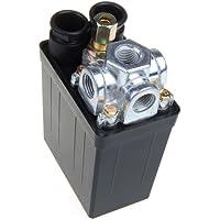MagiDeal 16A Pressostat pour Compresseur D'air Controle Valve 175PSI 240V - Noir