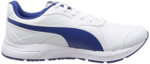 Puma Axis v4 SL, Baskets Basses Mixte Enfant, Mehrfarbig Weiß (puma White-Limoges 06)
