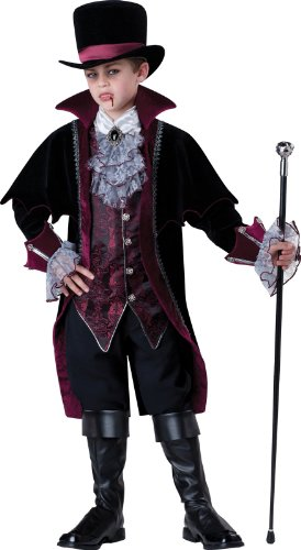 Gentleman Vampir von Versailles Kinderkostüm - Gr. 10/134-140cm (Vampir Von Versailles Kinder Kostüm)