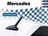 AM/FM Auto-Tuning-Kurzstab-Sport-Dach-Ersatz-Antenne für MERCEDES M5+M6 Gewinde