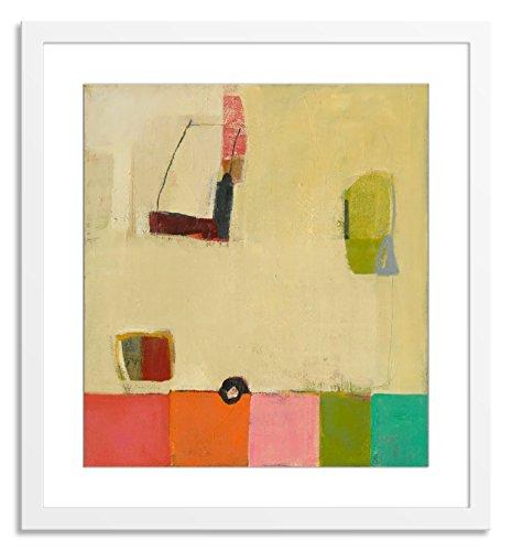 Gallery Direct Farbe Test Kunstwerke auf Papier von Jenny grau mit Weiß, sauber und einfach Rahmen, 68,6x 71,1cm