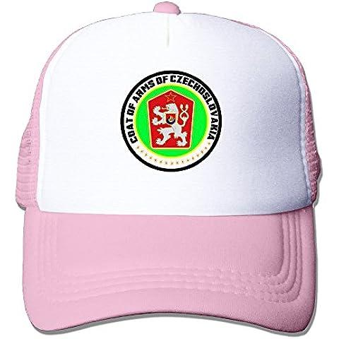 Coat Of Arms Of Czechoslovakia 100% Nylon Adult Mesh Hat Ivy Cap