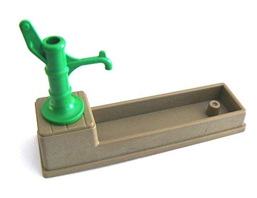 playmobil ® Brunnen - Pumpe - Schwengelpumpe mit Becken