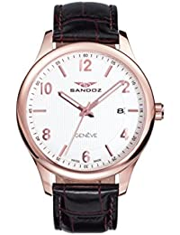 Reloj Suizo Sandoz Caballero 81365-85 Elegant Collection