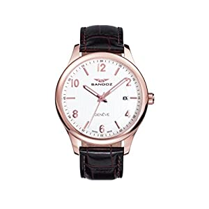 Reloj Suizo Sandoz Caballero 81365-85 Elegant Collection