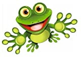 Autoaufkleber Sticker Frosch Kontur Aufkleber