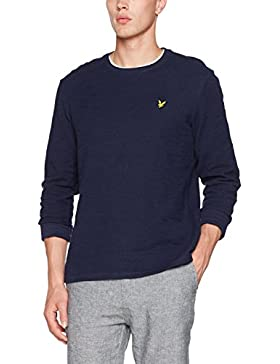 Lyle & Scott Light Weight Slub, Felpa Uomo