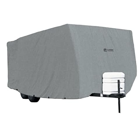 Classic Accessories OverDrive PolyPRO 1 Travel Trailer RV Cover, Fits