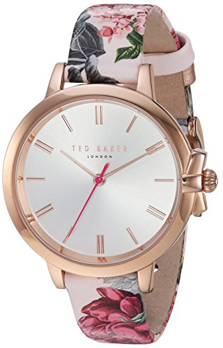 Ted Baker Women's 'RUTH' Quartz Stainless Steel and Leather Casual WatchMulti Color (Model: TE50267001)