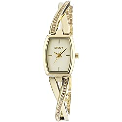 DKNY (DNKY5) Women's Quartz Watch with Gold Dial Analogue Display and Gold Stainless Steel Bracelet NY2237