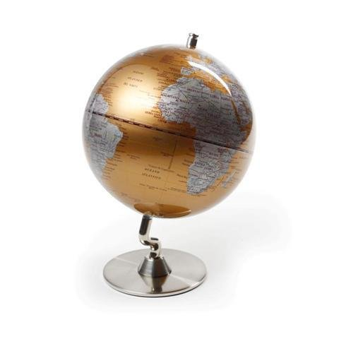 Globo Terráqueo Decorativo Mapamundi 'World Map' 18 x 13 x 13 cm.