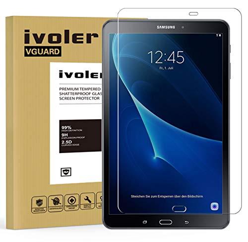 vetro tablet iVoler Vetro Temperato Compatibile con Samsung Galaxy Tab A 10.1 Pollici 2016 (T580N/T585N)