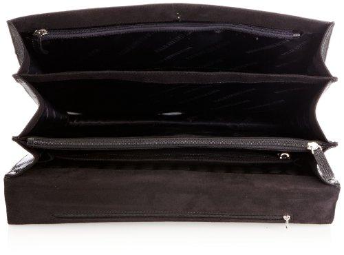 Leonhard Heyden 5409 Bristol 5409-003, Unisex - Erwachsene Aktentasche, Braun (Brown), L Black