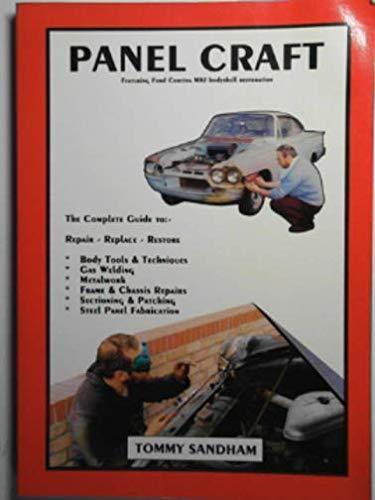 Panel Craft: Featuring Ford Cortina Mk.1 Bodyshell Restoration por Tommy Sandham