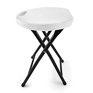 High Strength Foldable Stool - 200kg Capacity - Unique and Ergonomic Seat Design – 46cm Height
