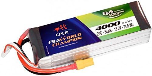 E PROPULSION SYSTEMS EPS - - - Batterie Lipo 18,5V (5S) 4000 mAh 20C prise XT90   De Nouveaux Produits 2019  2c3d0e