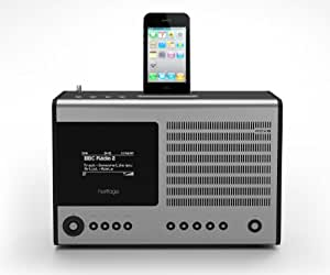 Revo Heritage G2 Internet DAB, DAB+, FM Radio with built in iPod/iPhone Dock and Alarm Clock BLACK