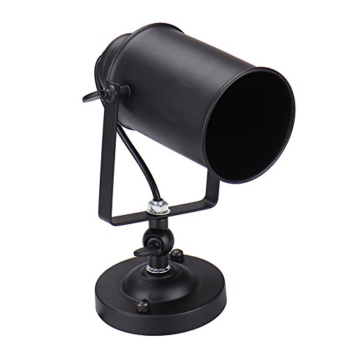Retro Lámpara de Pared,GZQES,Vintage Industrial lámpara de Pared,Lámpara de Pared con Casquillos...