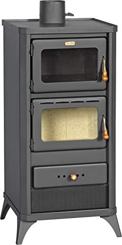 Estufa de leña para horno, estufa de cocina, chimenea de 12 kW...