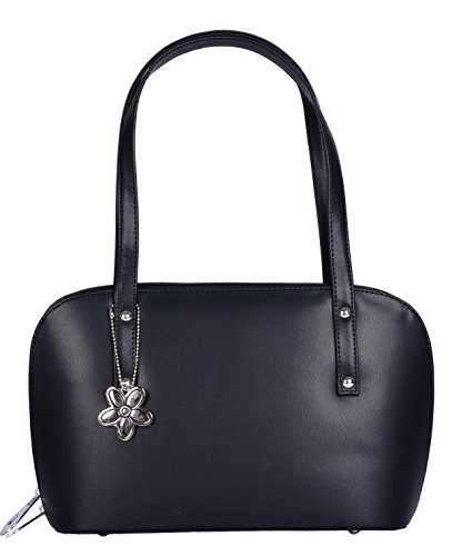 Whiteflower Black Women\'s Kitty Mini Handbag (WF0117)