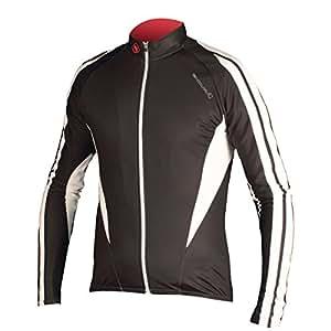 Endura FS260-Pro Roubaix Jersey Jacket Black - Black , Small