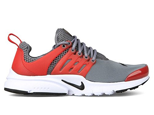 Nike Cool Grey / Unvrsty Red-Blck-Wht, Chaussures de Sport Garçon gris - Gris (Cool Grey / Unvrsty Red-Blck-Wht)