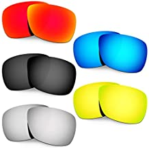 Hkuco Plus Mens Replacement Lenses For Oakley Inmate - 5 pair