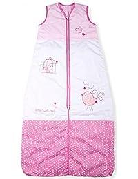 Sac de couchage pour bébés, Tweet Peu Oiseau, Kiddy Kaboosh Différentes tailles, Poids léger, 0.5 Tog