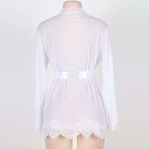 SEVEN STYLE - Camicia da notte -  donna White