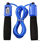 #4: GOCART Jump Ropes Sports Fitness Exercise Cotton Sponge Count Rope Skipping Wire Fitness Outdoor Sporting Skip Rope