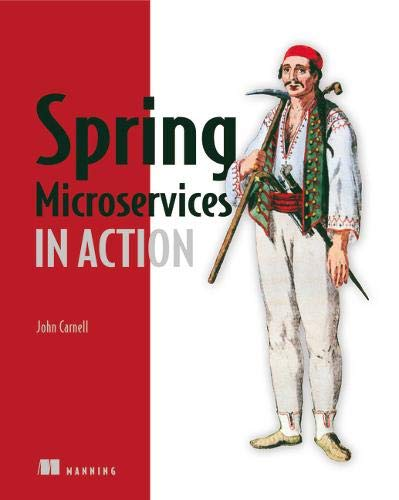 Spring Microservices in Action por John Carnell