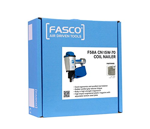 Beck Fastener Group PowerCoil de Cloueuse Fasco f58 a cn15 W-CN70, 000011420