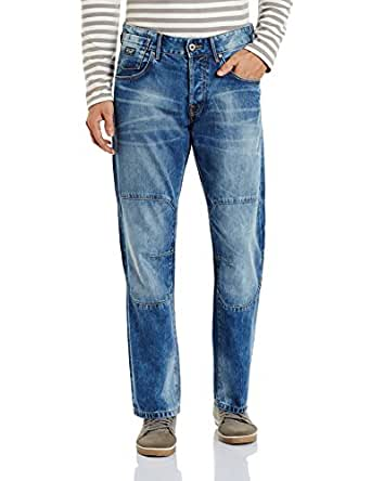 Jack & Jones Men's Relaxed Jeans (5712830979252_12096265_28_Blue Denim)