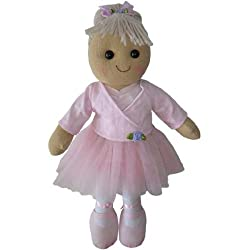 Ballerina Rag Doll - Handmade - Medium 40cms - Powell Craft