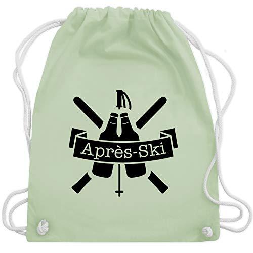 Sprit Kostüm - Après Ski - Après Ski Bierflaschen - Unisize - Pastell Grün - WM110 - Turnbeutel & Gym Bag