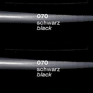 Unbekannt 5m x 0,63m Oracal 651 Folien Set - 070 Schwarz - Glanz Klebefolie - Folie - Moebelfolie - Plotterfolie - Selbstklebend