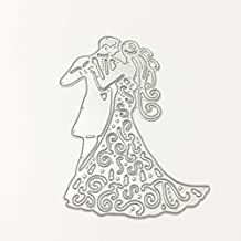Rawuin wedding metallo taglio Craft Dies stencil DIY carta scrapbooking album per home decor (# 041