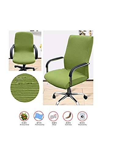 Modern Minimalism Chair Cover Chair Protector Removable Washable for Office Computer Universal Chair Armrest Chair Swivel Chair,1