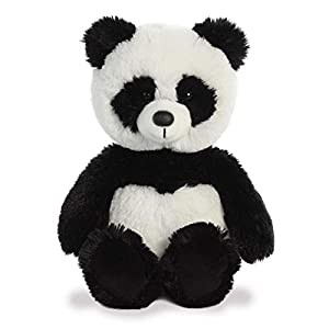 Aurora World 34223 - Peluche de Peluche, Color Blanco y Negro, 30,5 cm