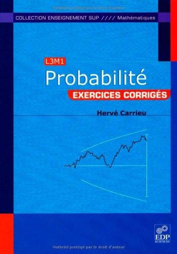 Probabilité : Exercices corrigés
